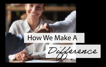 people shaking hands across a table how you can make a difference