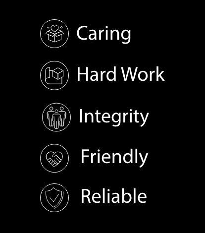 caring hard work integrity friendly reliable personal growth